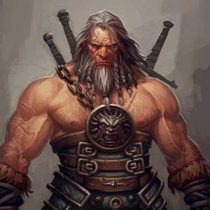 Vrokthar's Christmas list is making him angry.