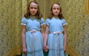 Right, okay. Matching clothes are frightening? Is that it?