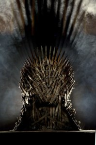 It might take another 1200 pages of Nothing Much Happening, but we all know Dany's got a chair waiting for her.
