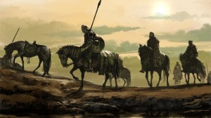 What I imagine Wardenriders on patrol to look like.