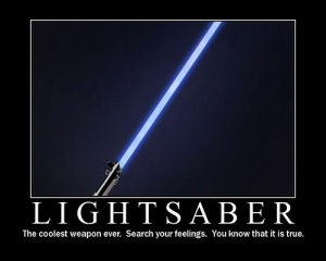 Very cool--no contest. But Jedi would behave a little differently, I think, were it not for the need for flash and glitz.