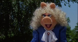 Pictured: Not a sane pig.