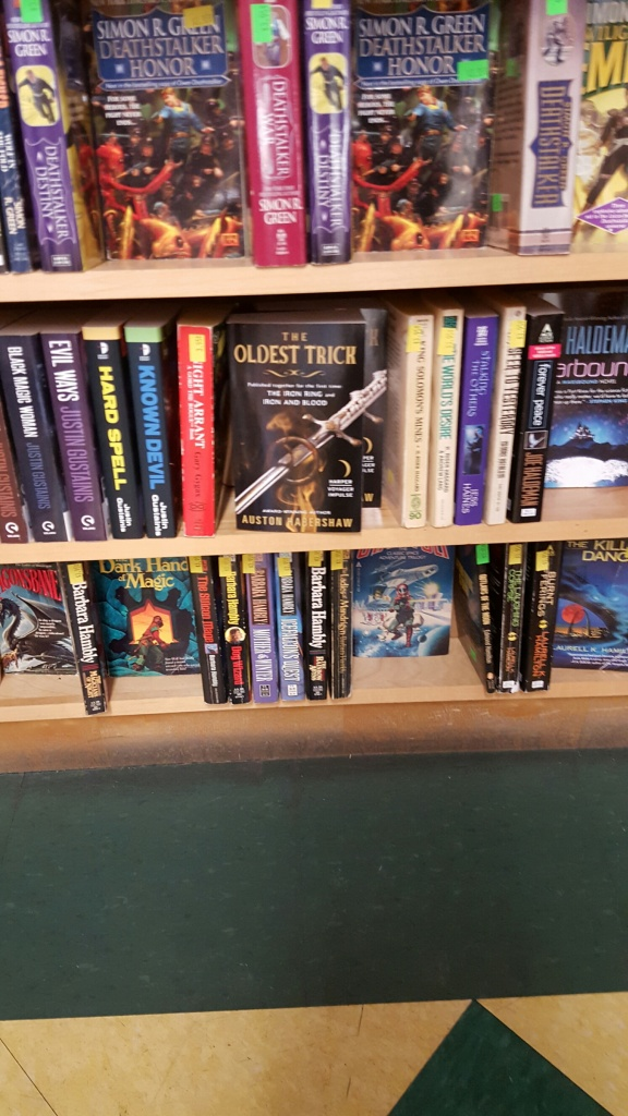 Seen in the wild at Pandemonium Books and Games, Cambridge MA