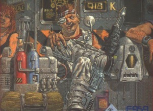 This voice partially owes this old Battletech: Mercenaries image for inspiration.