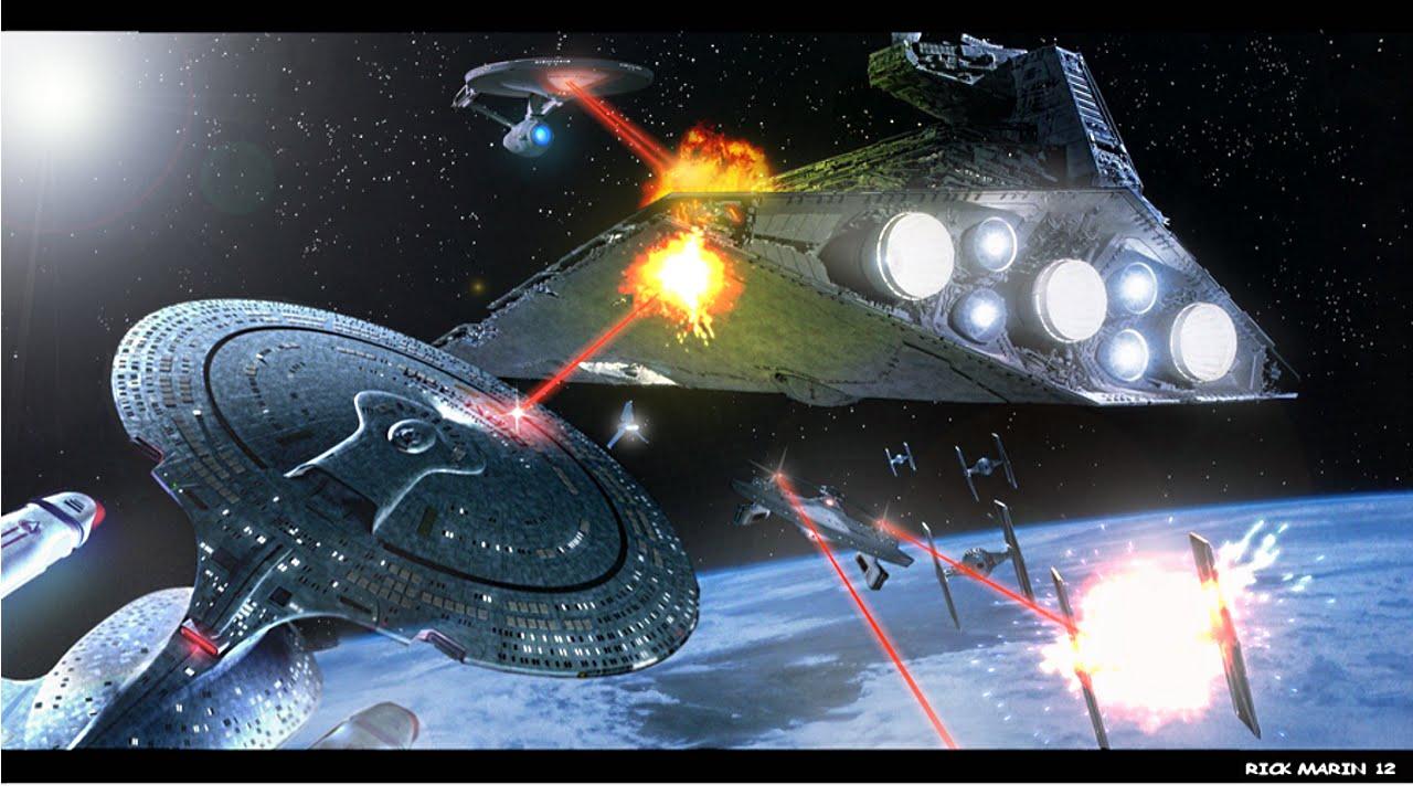 The Star Trek/Star Wars/40k Unification Hypothesis   Auston